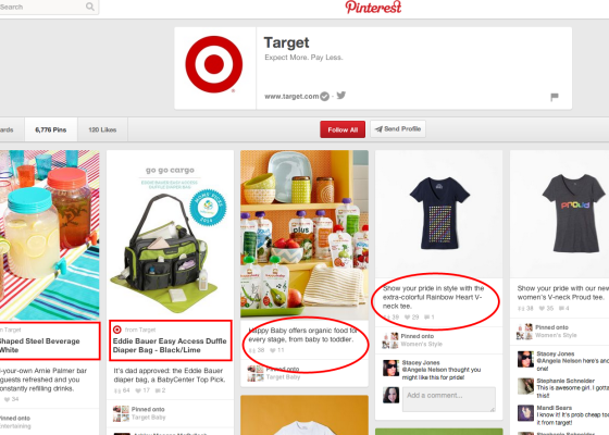 Target on Pinterest