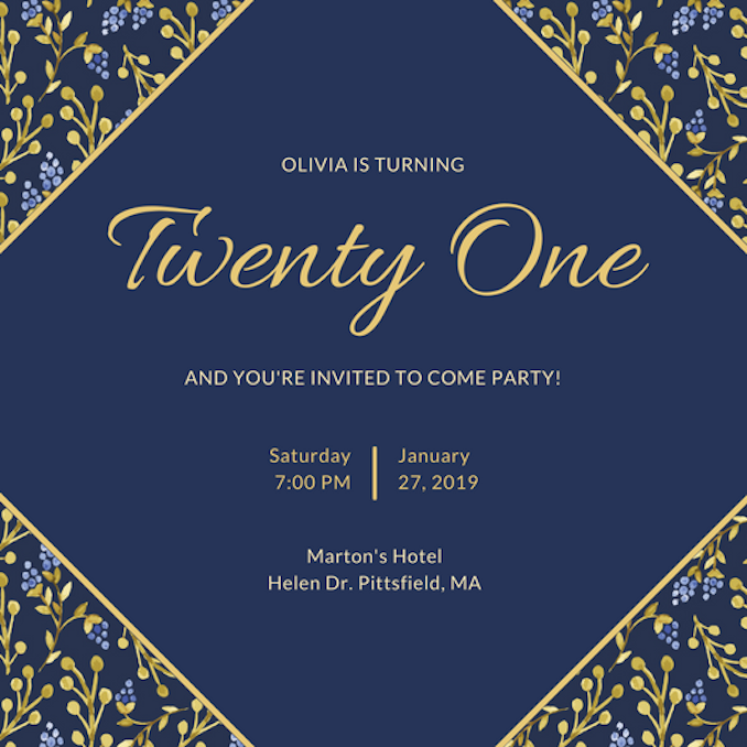 Invitation Maker: Design Your Own Custom Invitation Cards