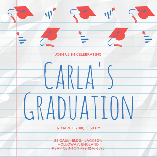 Design Your Own Graduation Invitation Canva – Create Graduation Invitations Online