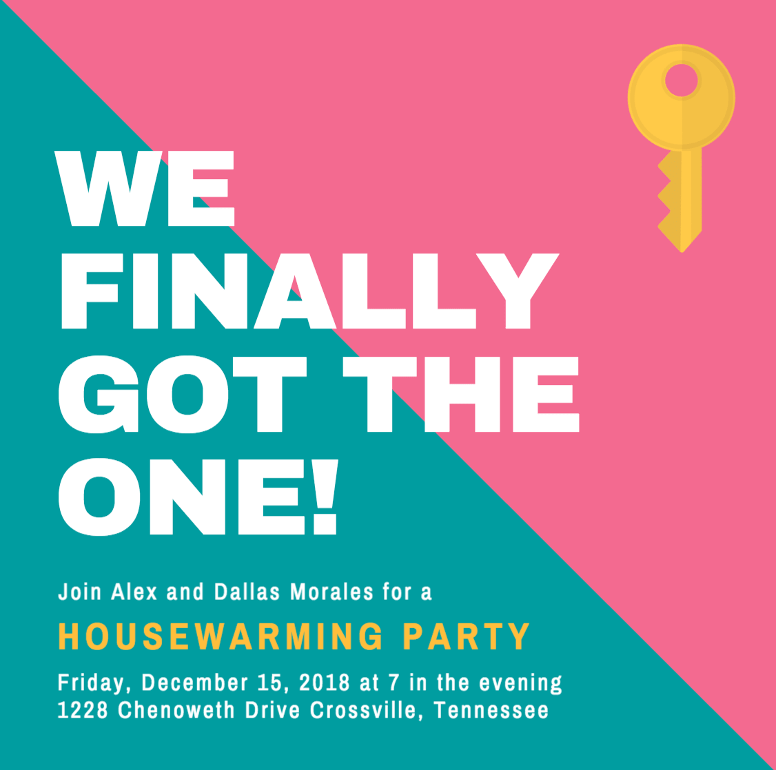 Design your own custom housewarming invitations canva stopboris Gallery