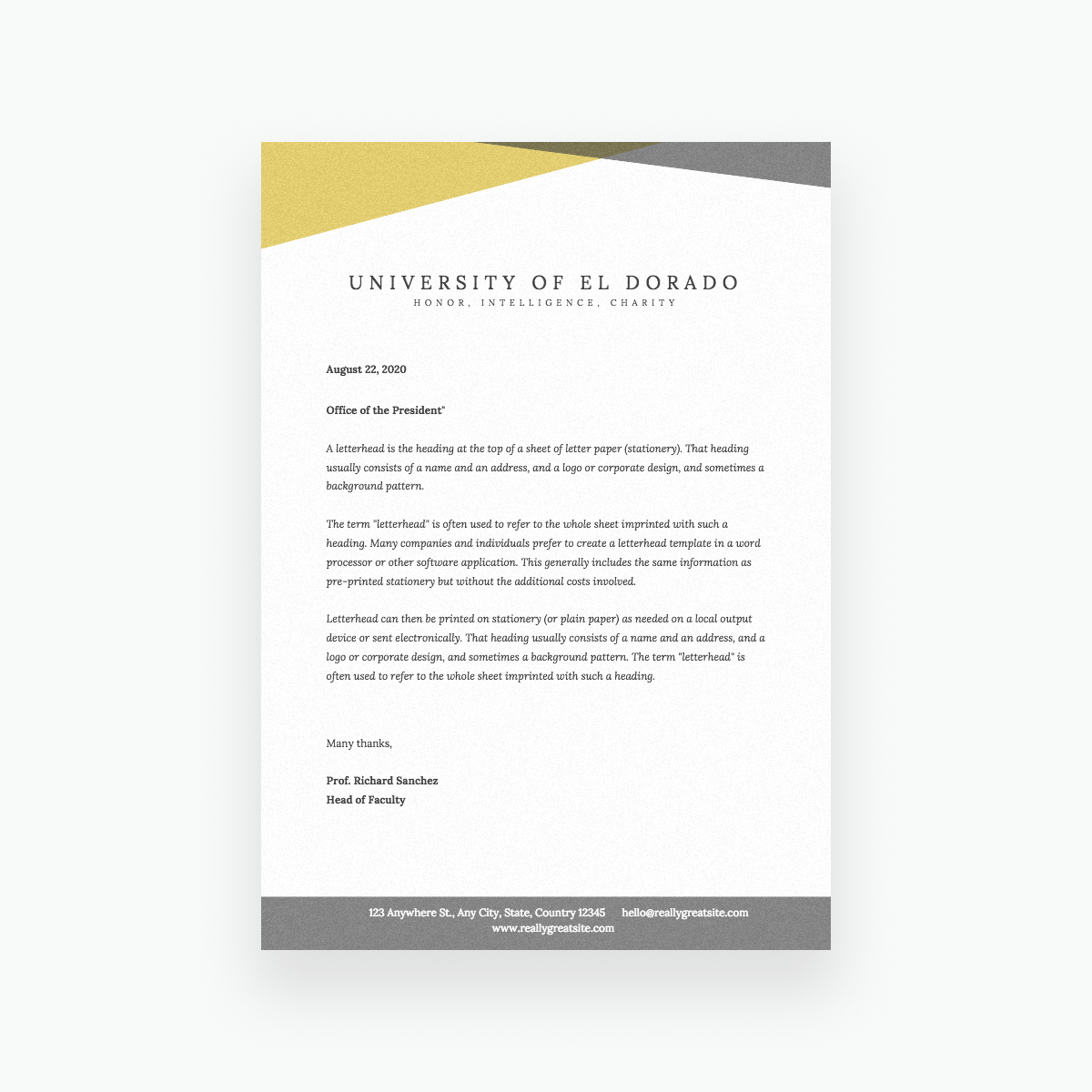 Free Online Letterhead Maker With Stunning Designs Canva
