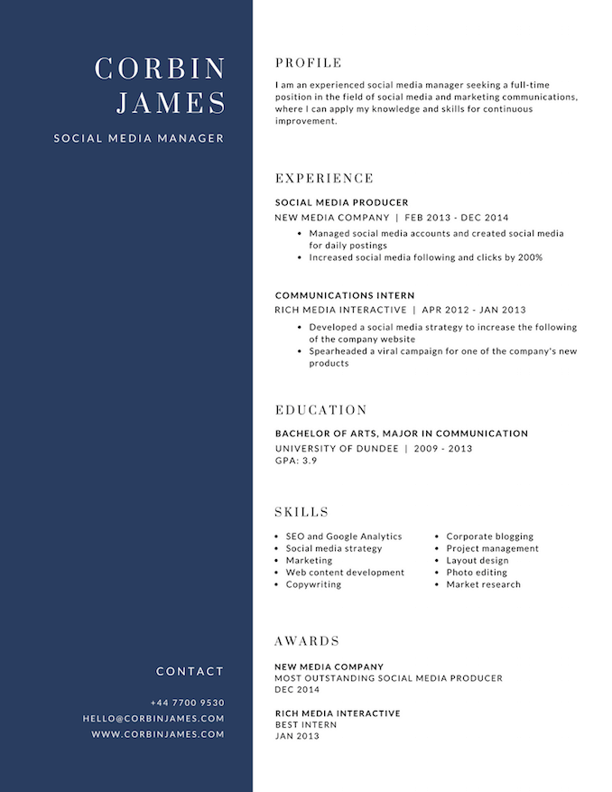 simple resume canva free resume builder design a custom resume in canva