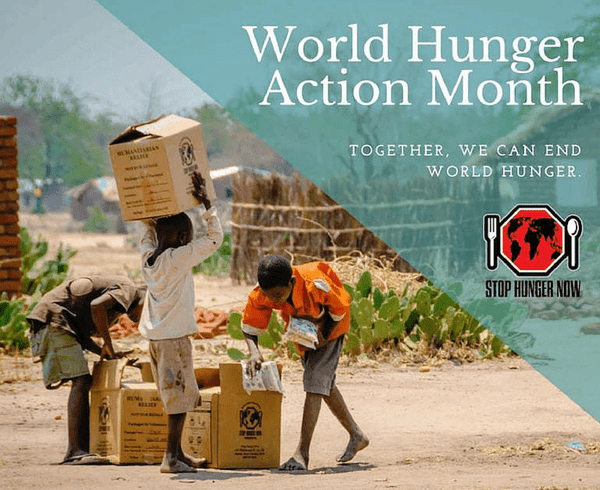 World Hunger Action Month