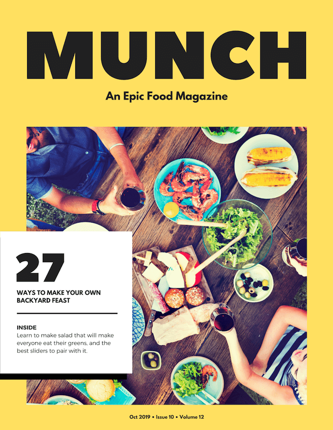 Food Magazine Covers