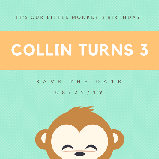 green-and-orange-monkey-birthday-save-the-date-invitation