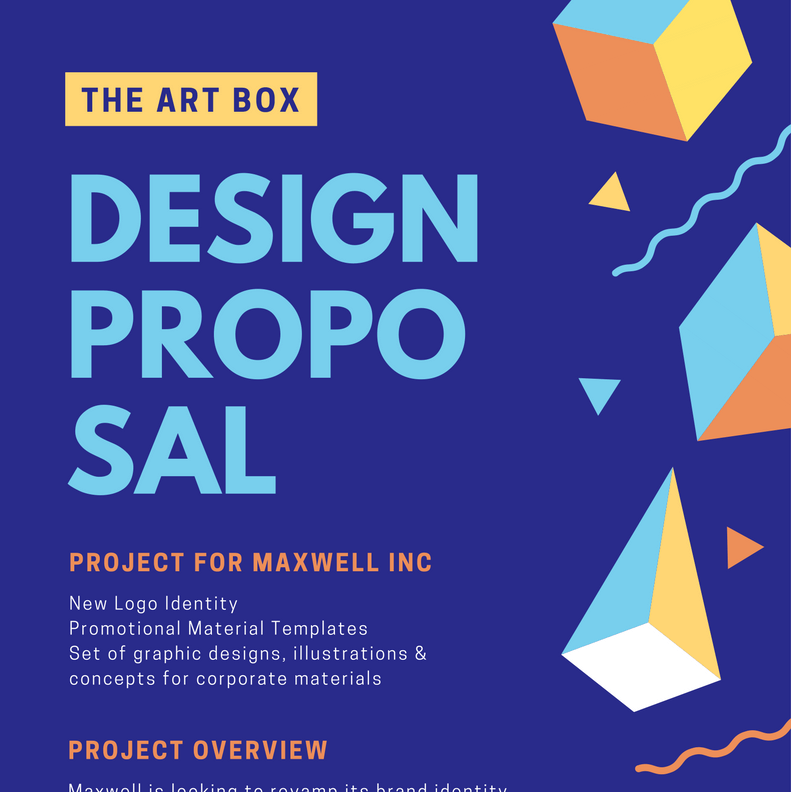 free online proposal maker  design a custom proposal