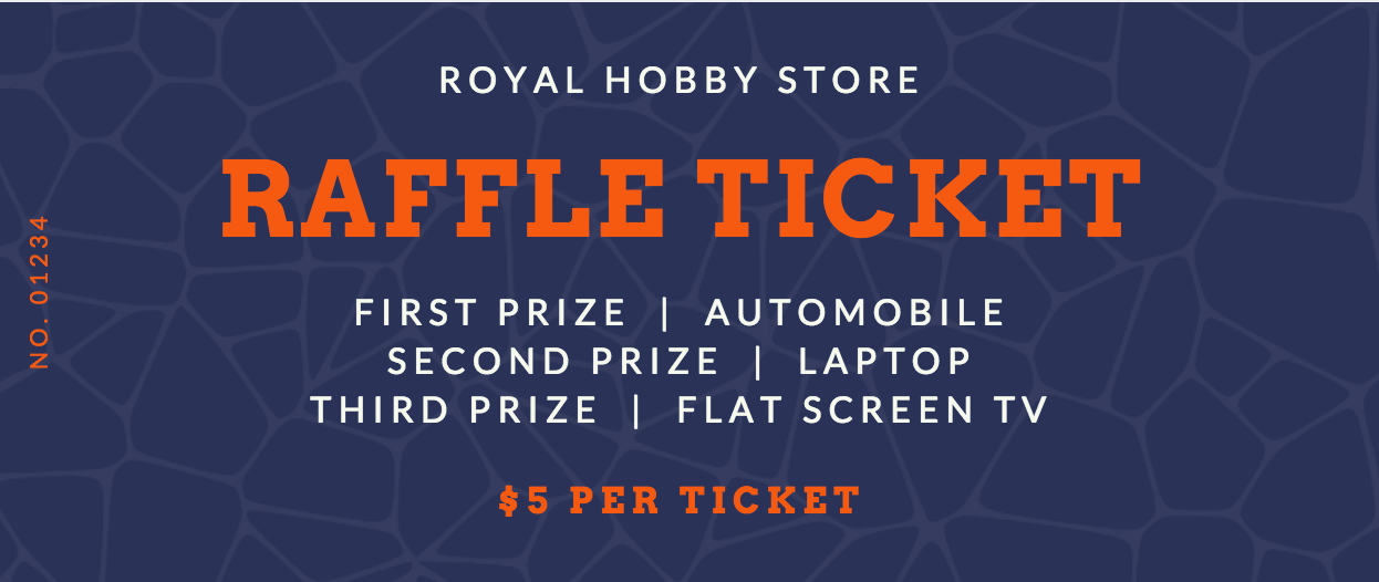 Free Online Raffle Ticket Maker Design a Custom Raffle Ticket Canva – Ticket Creator Free
