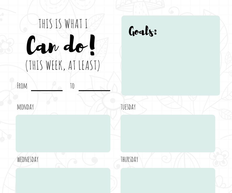 Free Online Weekly Schedule Maker: Design a Custom Weekly ...