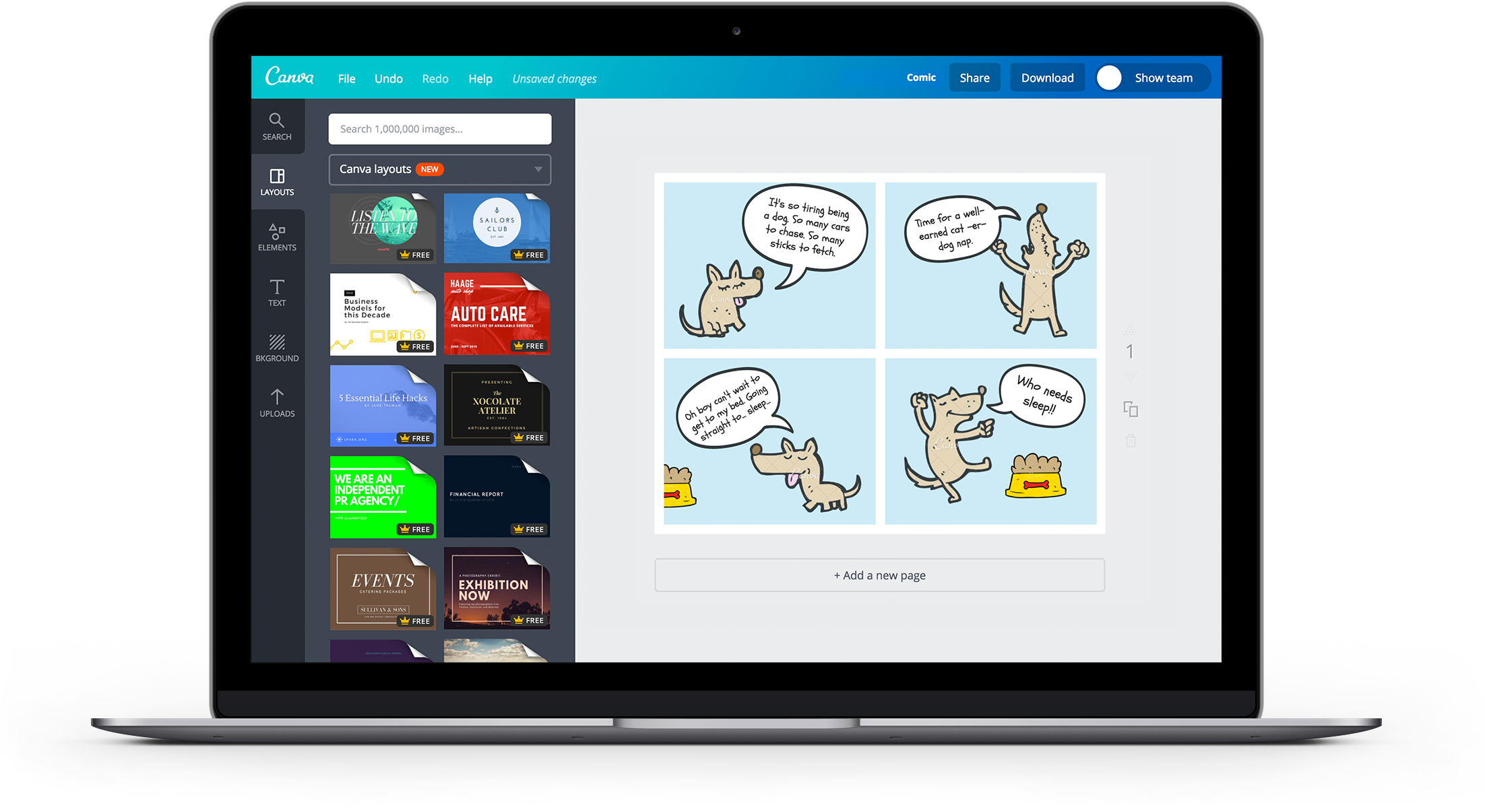 Free Online Comic Strip Maker: Design a Custom Comic Strip
