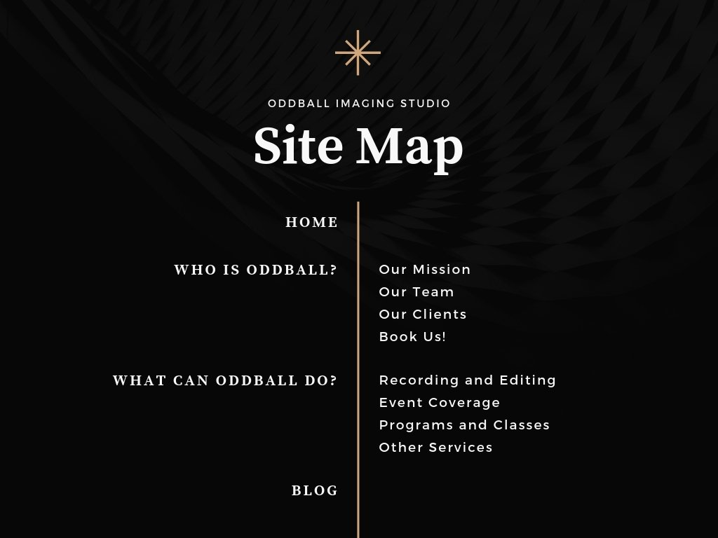 Black Brown Photo Minimalist Site Map Chart