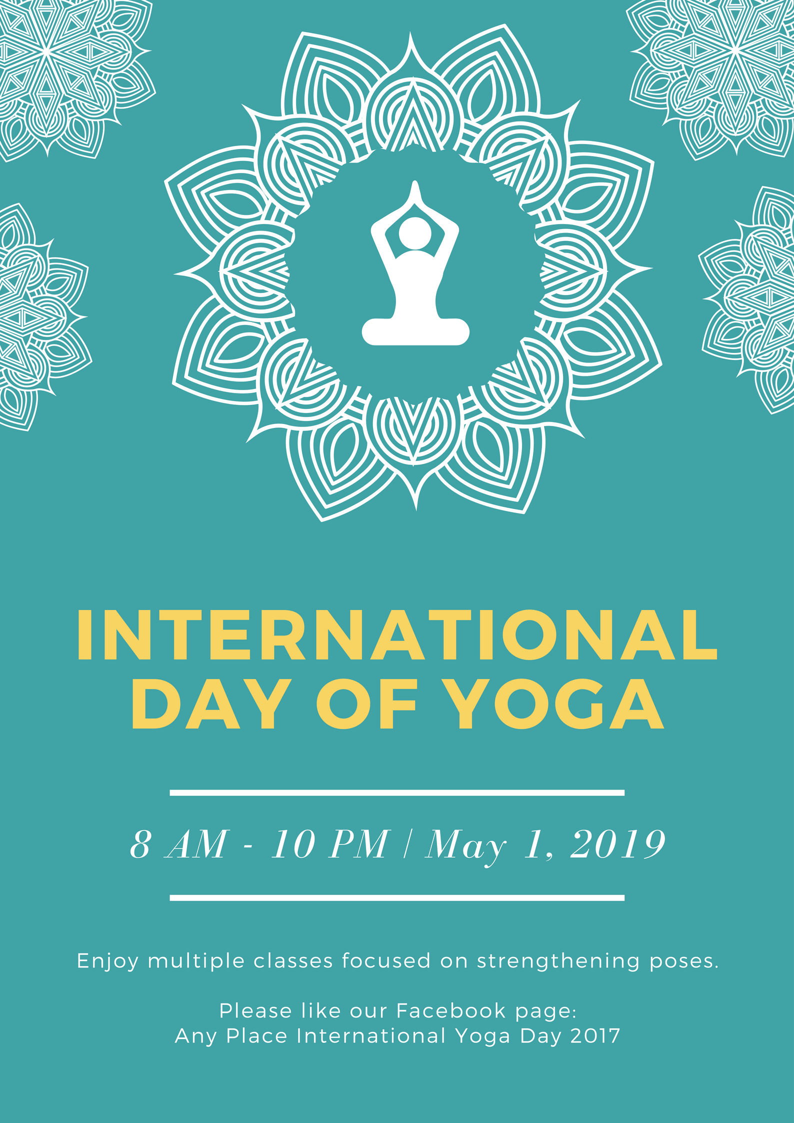 Free International Day Of Yoga Posters Design A Custom Poster In Canva