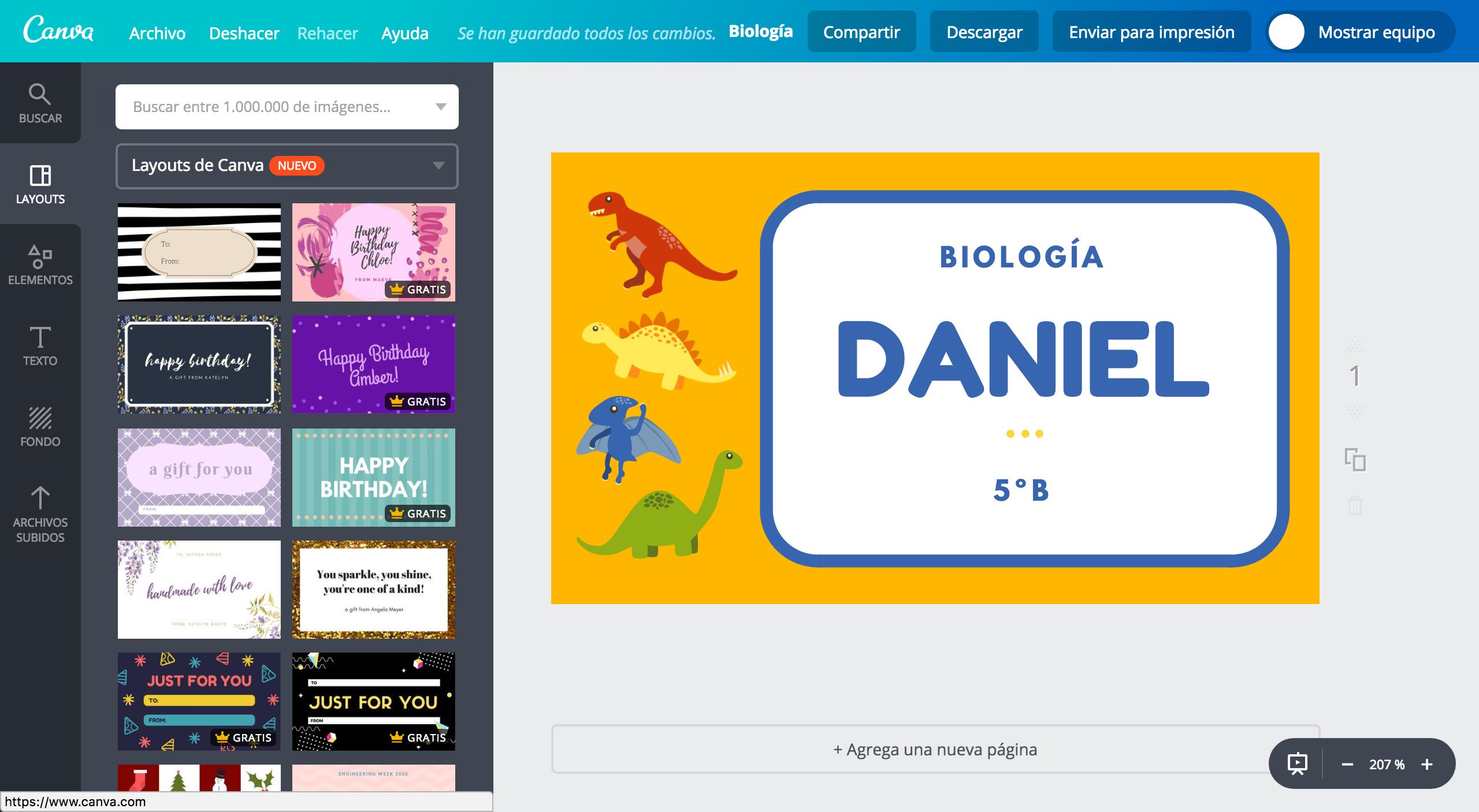 Diseña etiquetas para cuadernos online gratis - Canva