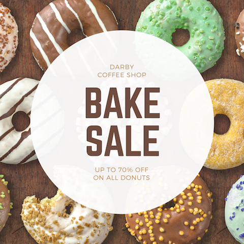 55 bake sale ideas canva