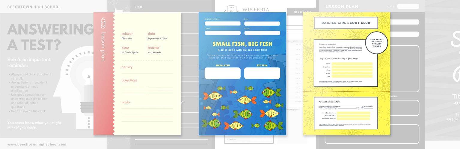 Free Online Worksheet Maker: Design Custom Worksheets in Canva