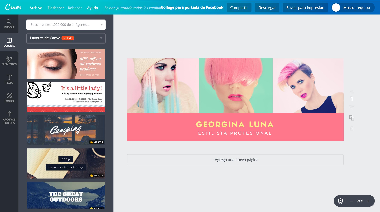 Imagenes Para Facebook Gratis: Crea Un Collage Para Portada De Facebook Gratis