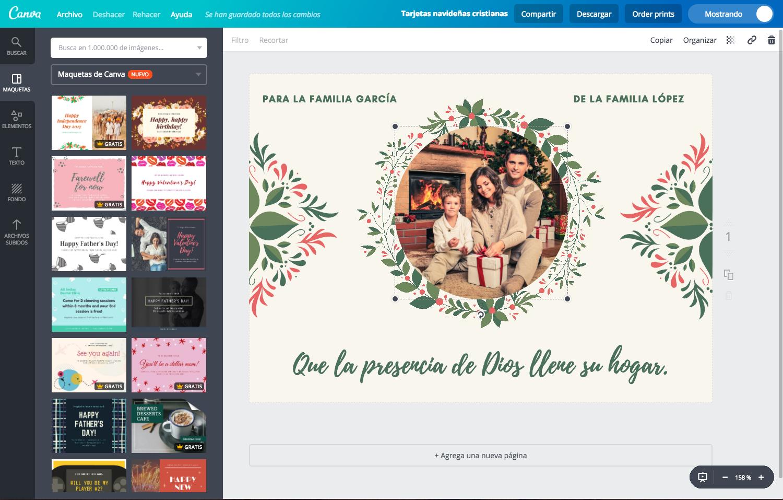 crea postales navideas que llamen la atencin