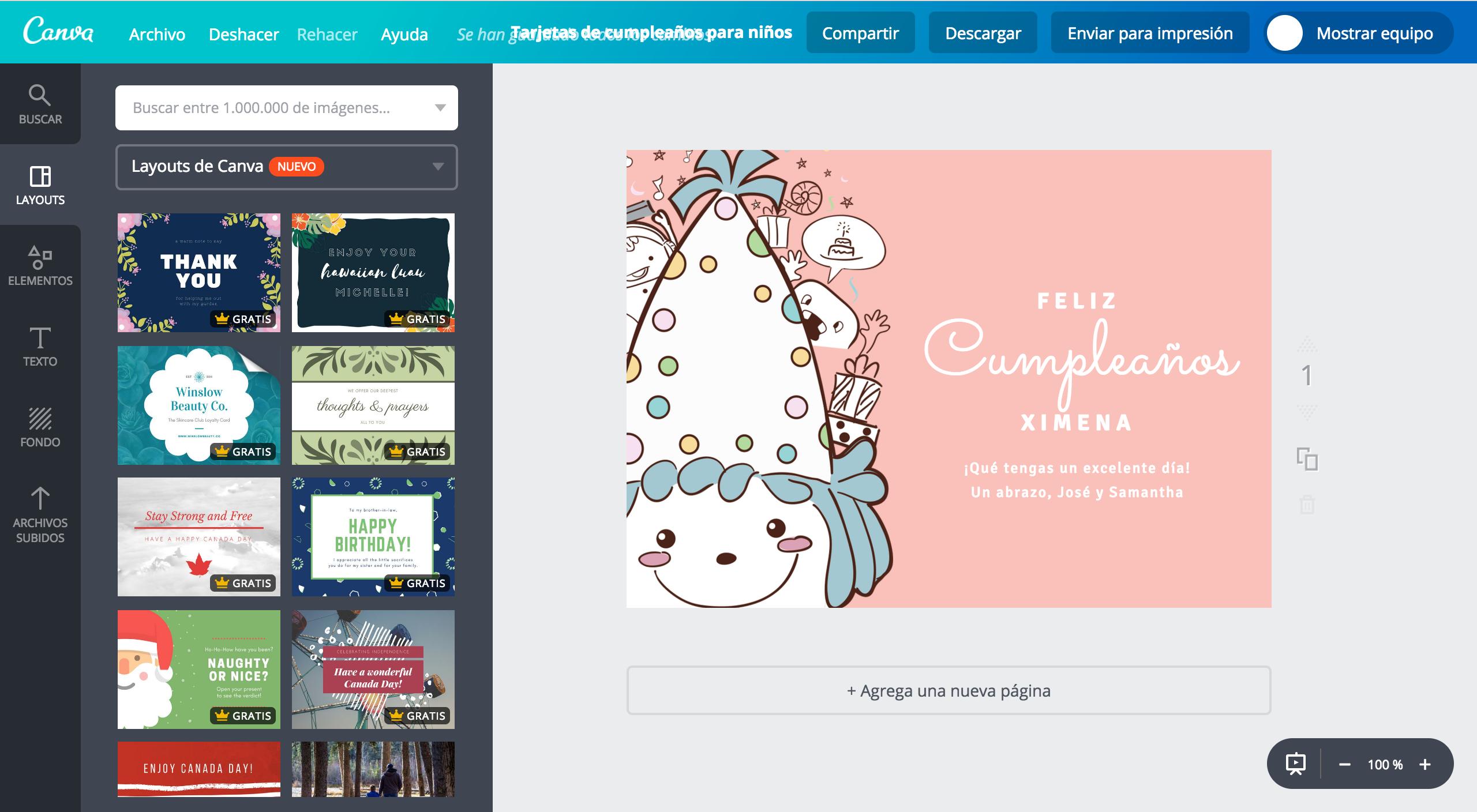 big sale best choice timeless design Crea tarjetas de cumpleaños para niños online gratis - Canva