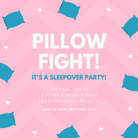 40 Slumber Party Ideas For Kids Canva