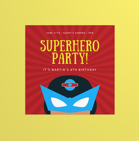 30 superhero party ideas canva