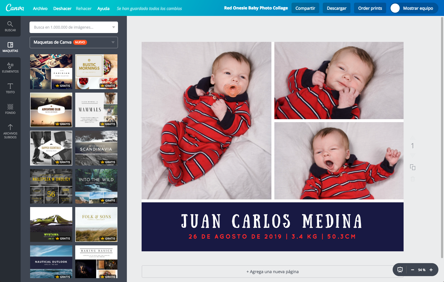 Crea un divertido collage para ni os online gratis canva for Collage foto online gratis italiano