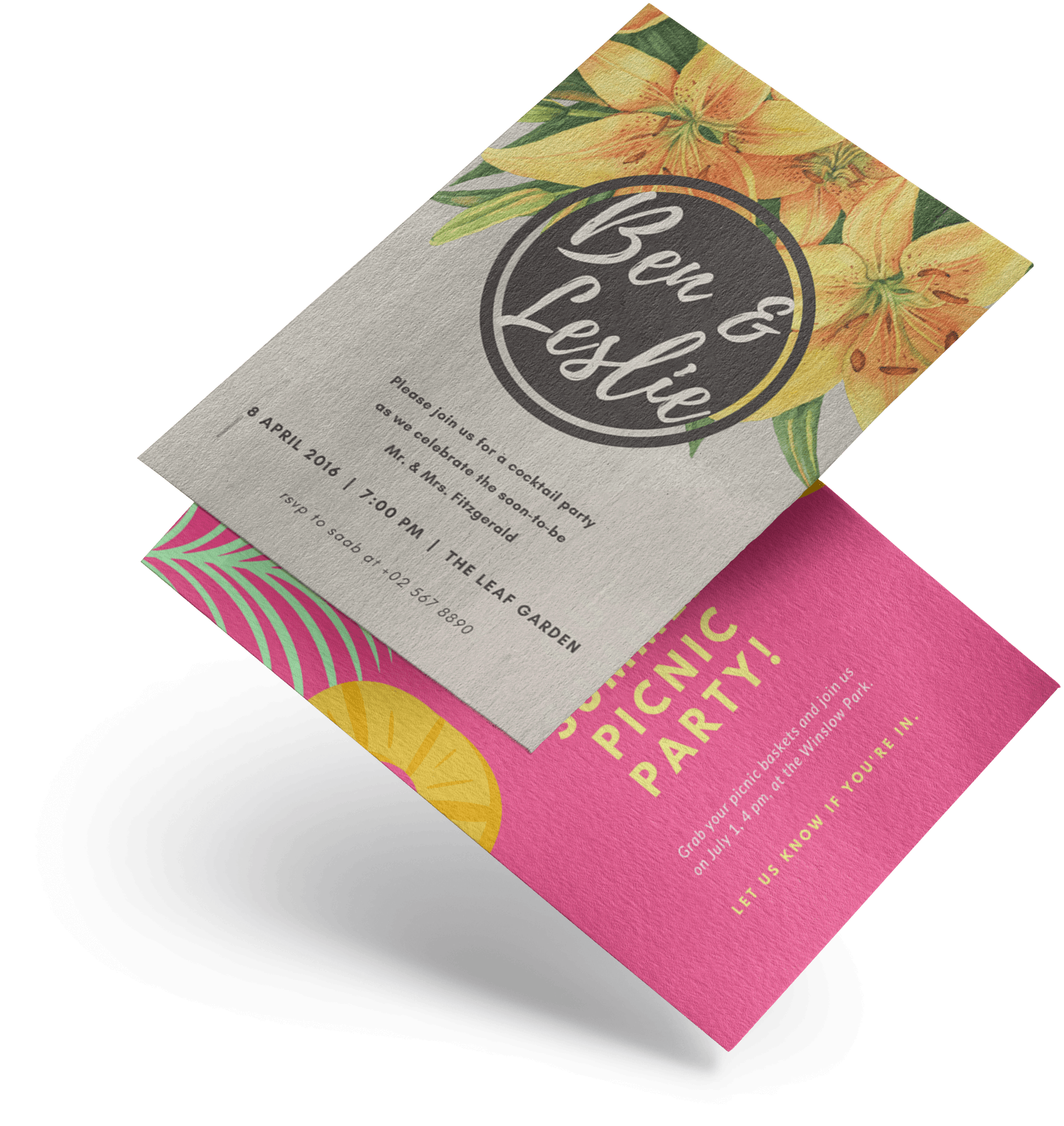 Design And Print Invitations On Canva
