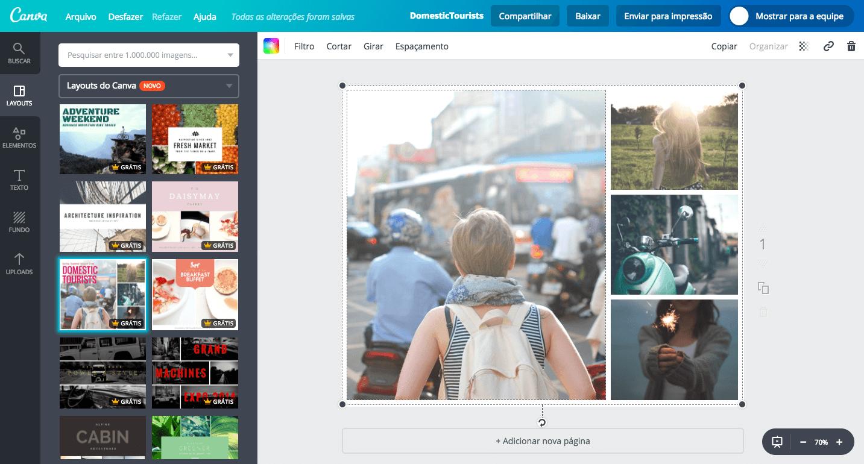 Editor de fotos e imagens online gr tis canva - Para disenar fotos ...