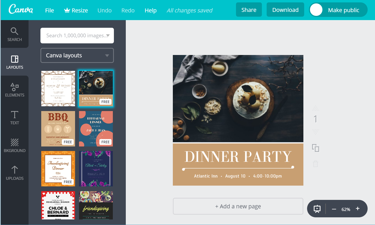 Free Dinner Invitation – Free Dinner Invitations