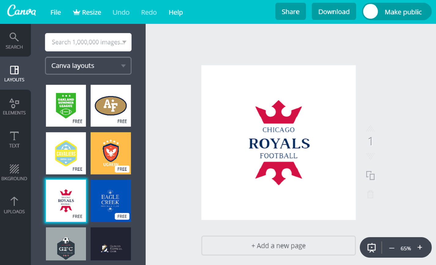 Design Football Logos For Your Team (Free!) With Canva