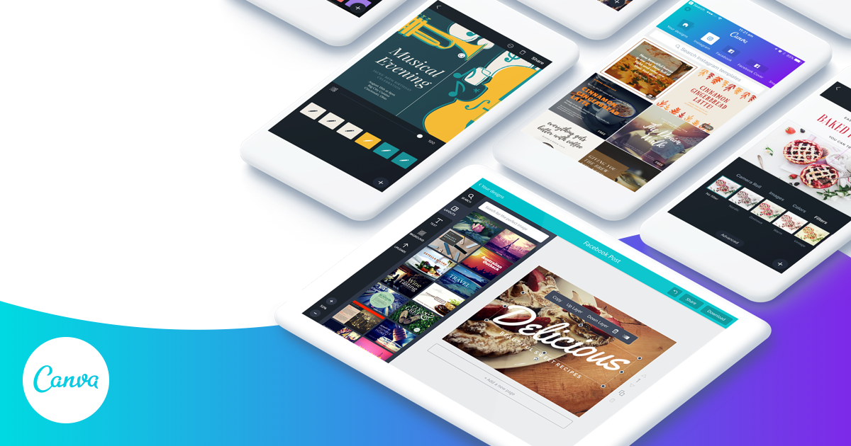 Download free for iPhone, iPad and Android — Canva