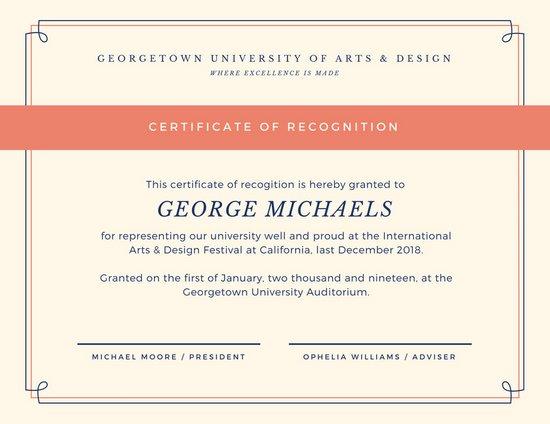 mod u00e8les de certificats et attestations en ligne
