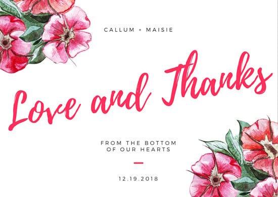 30 contoh kartu ucapan pernikahan   canva