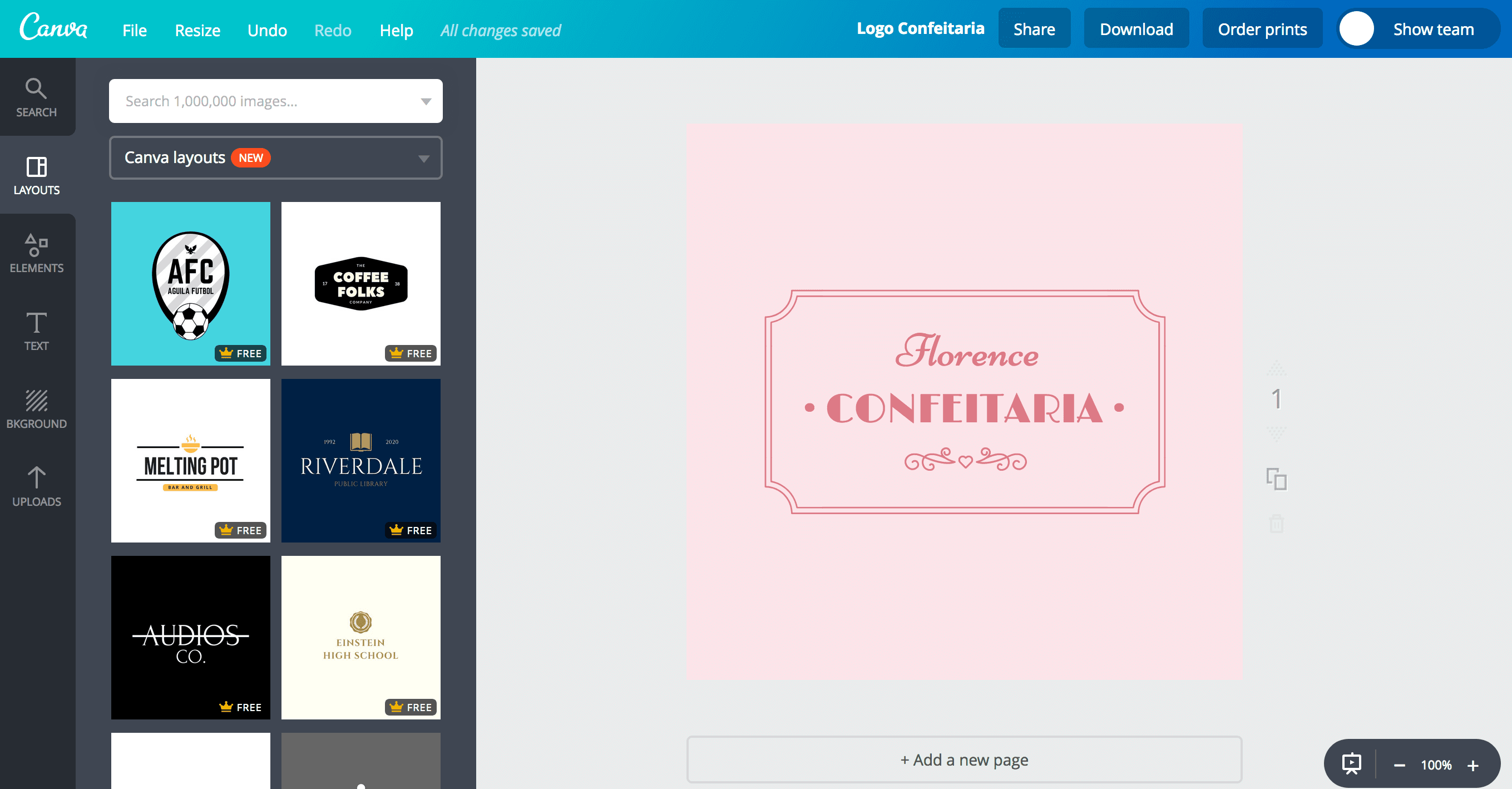 Outros designs do Canva
