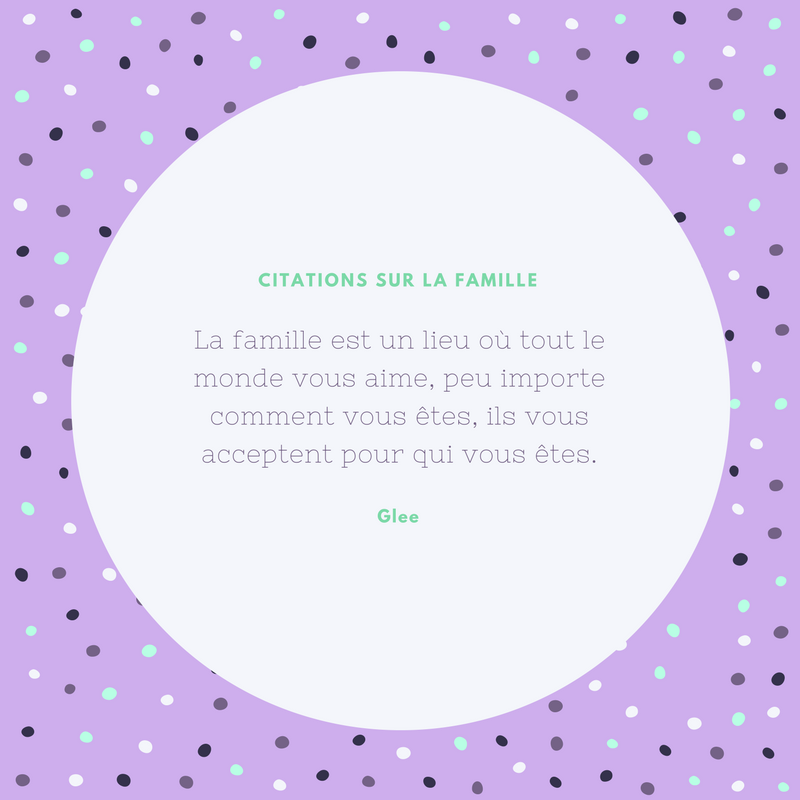 Citation Sur La Famille Originales En Images Canva