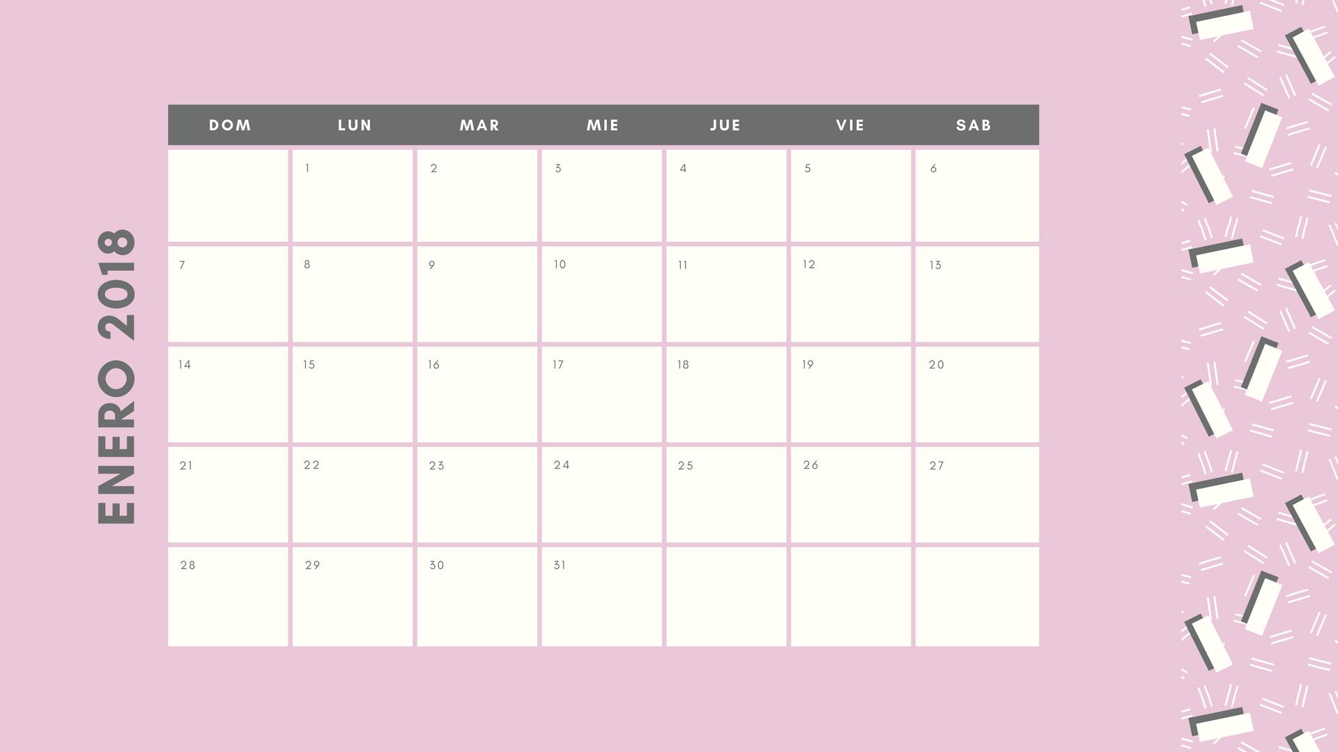 Crea calendarios personalizados online gratis con Canva