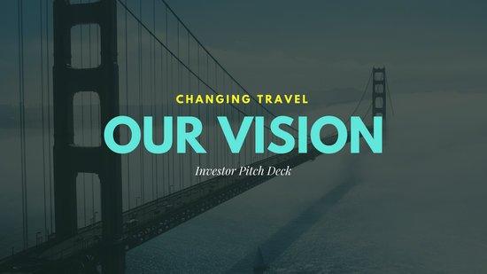 Фон для презентации с фотографией Золотого моста в Сан-Франциско