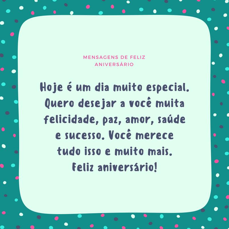 Mensagens De Feliz Aniversário Lindas Frases E Imagens Canva