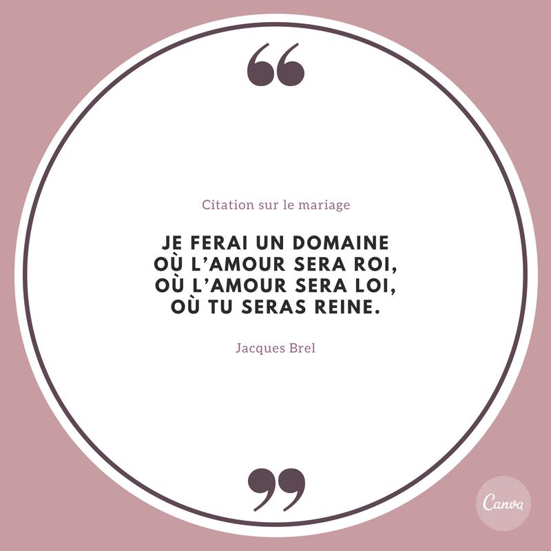 Creez Des Citations Sur Le Mariage Gratuitement Canva