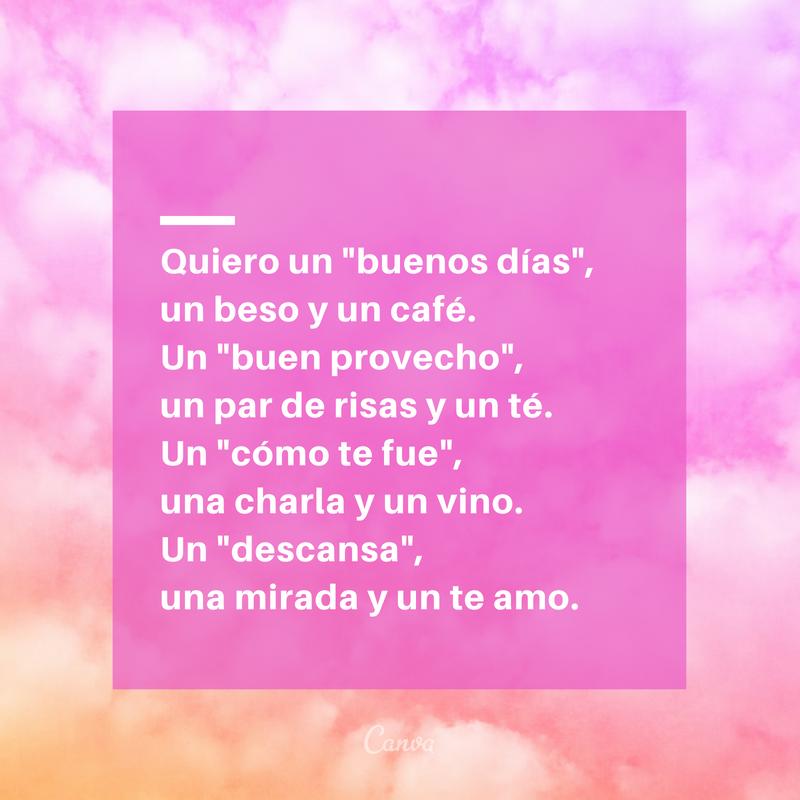 Los Mejores Mensajes Románticos De Buenos Días Canva