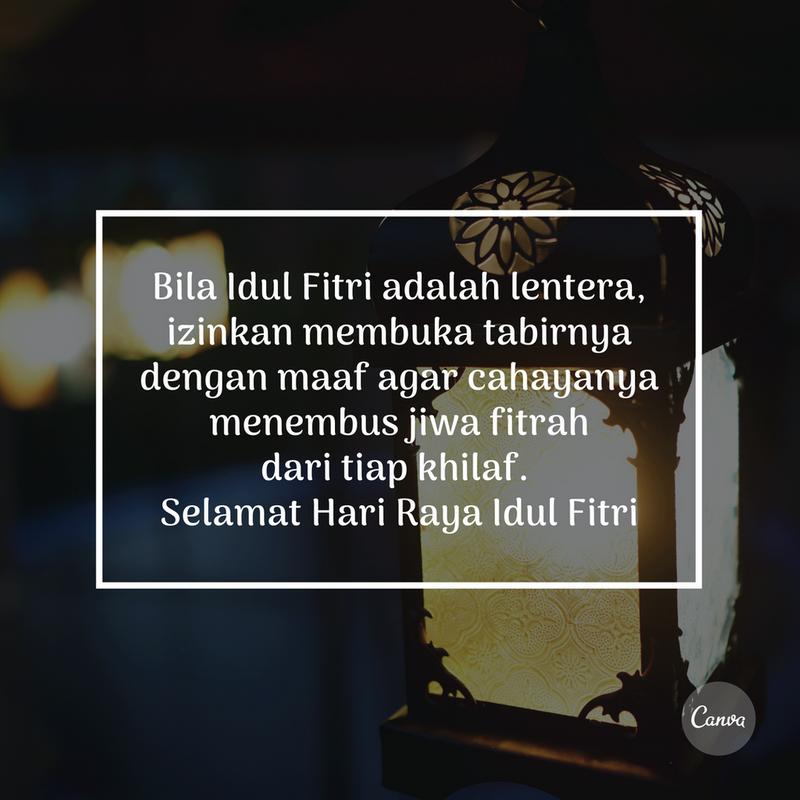 Ucapan Selamat Idul Fitri Penuh Makna