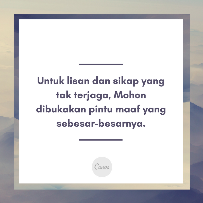 Lebaran Quote