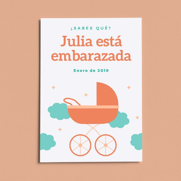 Ideas para anunciar un embarazo