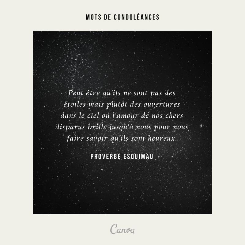 Les Plus Beaux Messages De Condoléances Du Web Canva