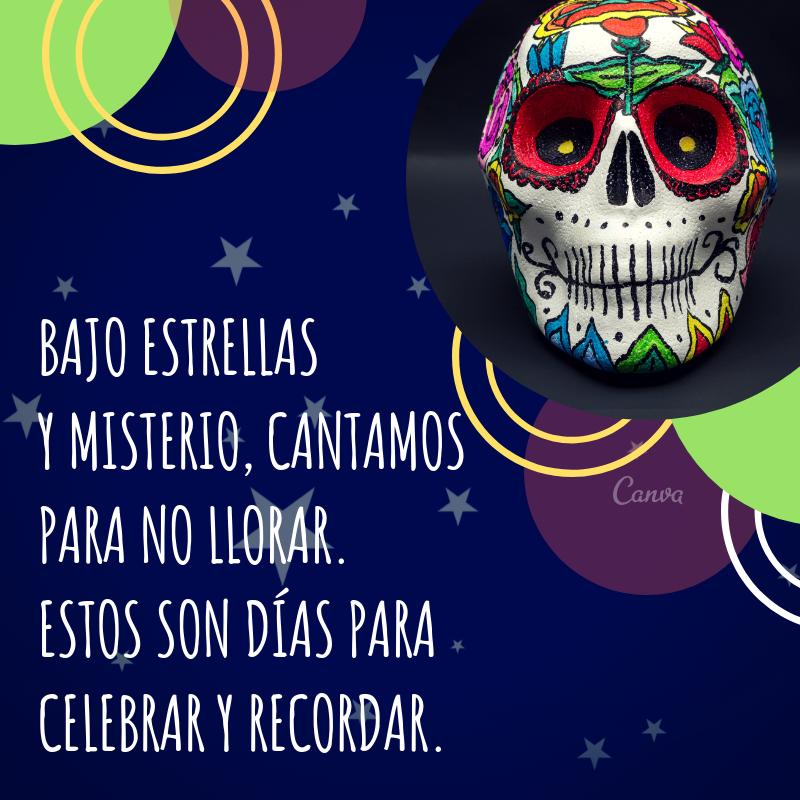 Folclóricas Frases Del Día De Muertos Para Compartir Canva