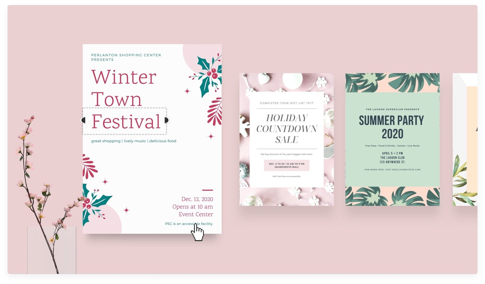 free online flyer maker  design custom flyers with canva