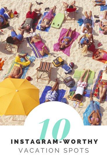 Макет Инстаграм сторис с фотографией людей на пляже