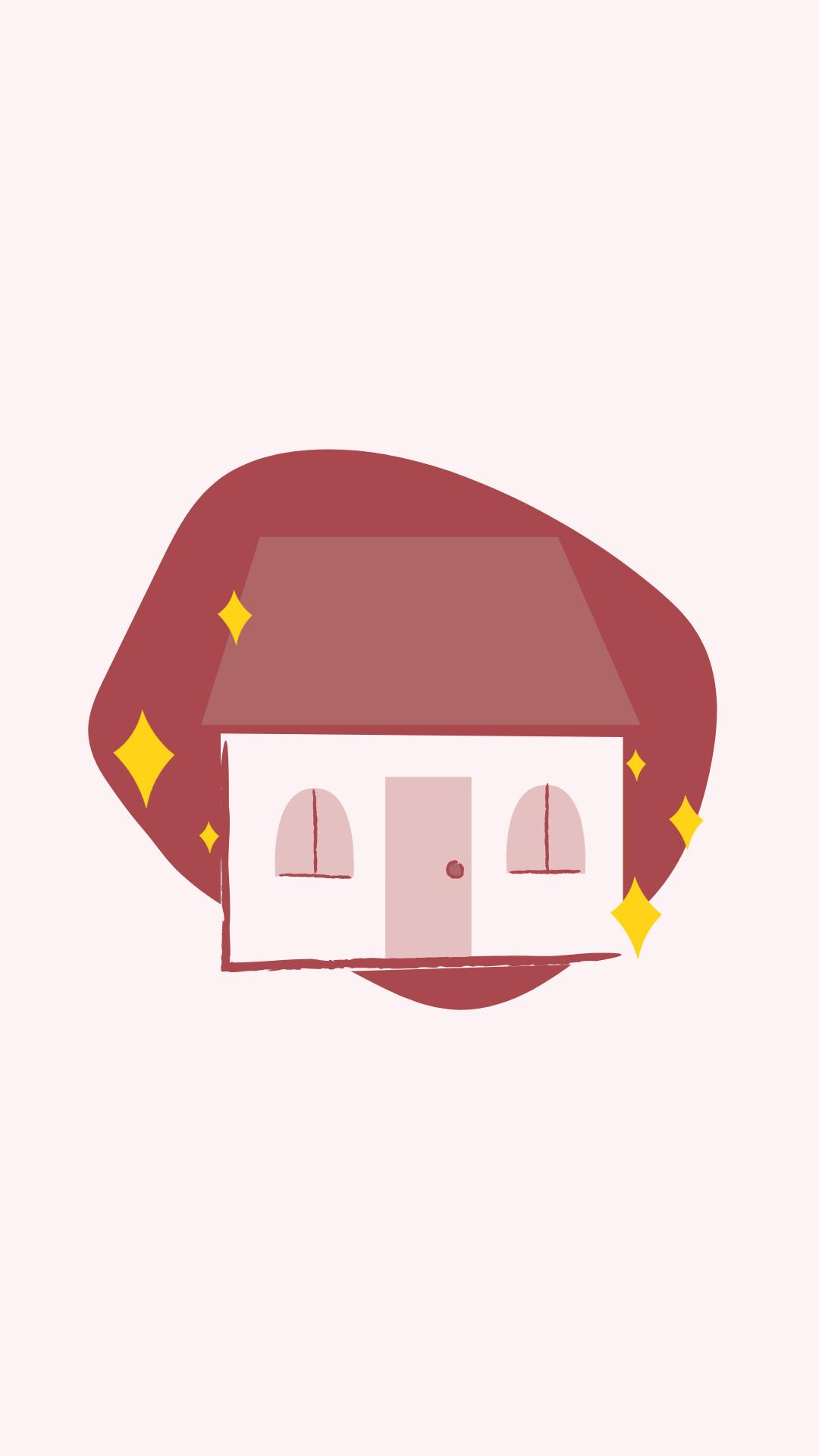 Шаблон иконки актуального с картинкой дома