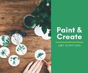 Шаблон рекламного баннера художественной студии