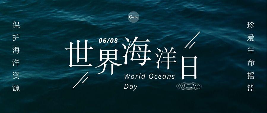 世界海洋日公众号封面