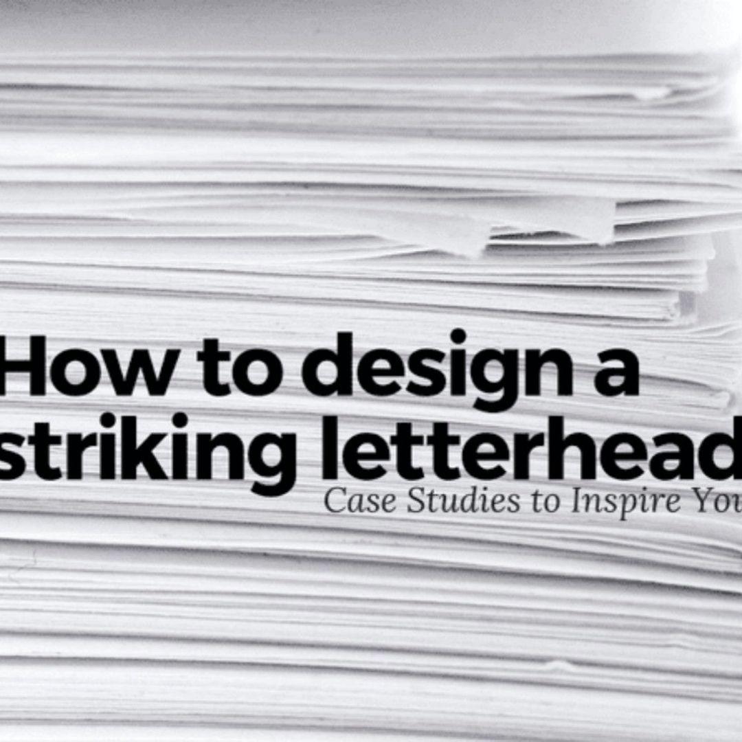 20个案例教你设计吸睛的信笺抬头