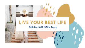 Gold, Pink and Blue Shapes Wellness Influencer Youtube Channel Art